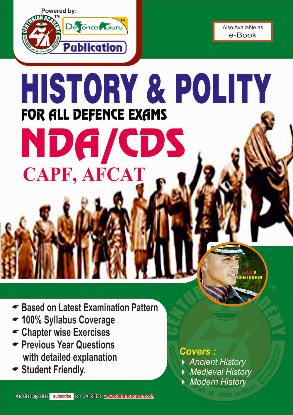 NDA CDS History and Polity