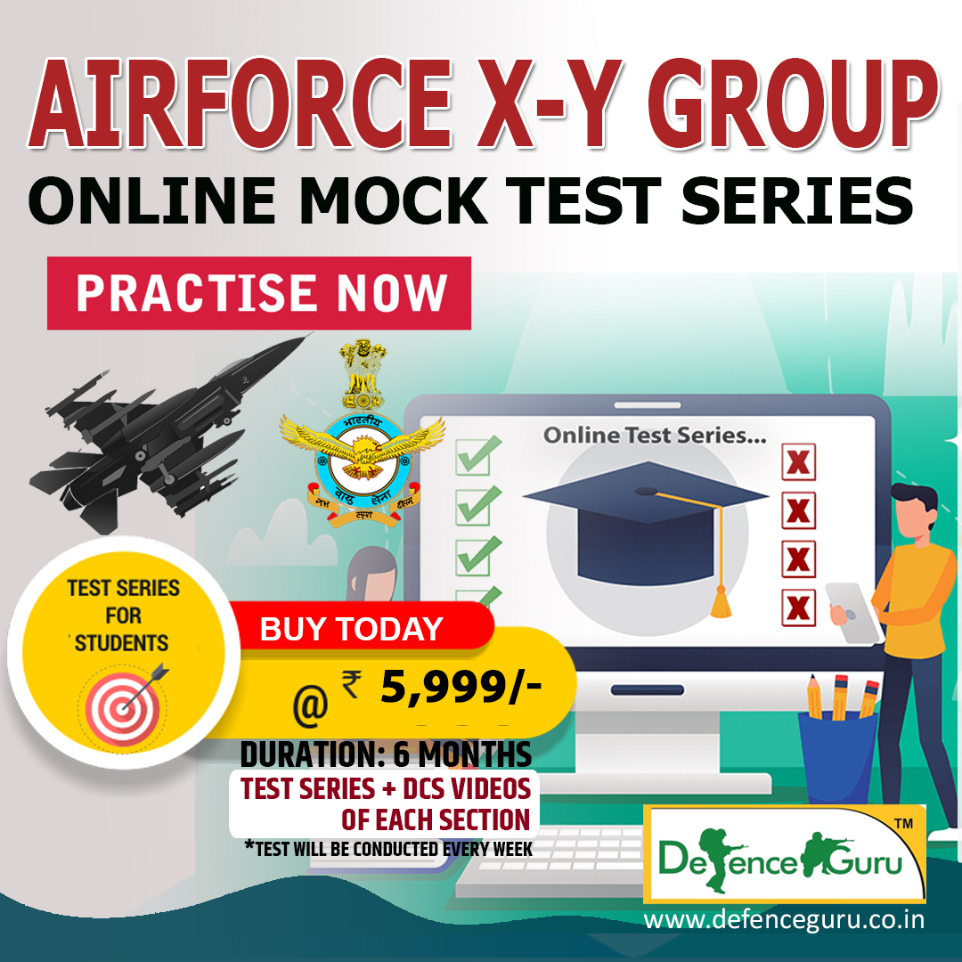 IAF XY Group Online Test Series