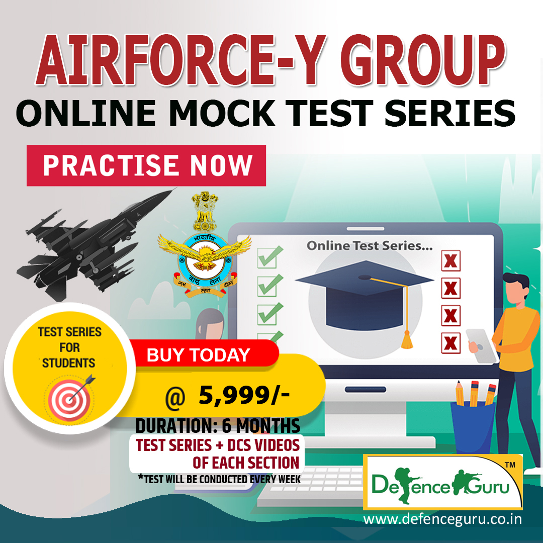 IAF Online Test Series Y Group