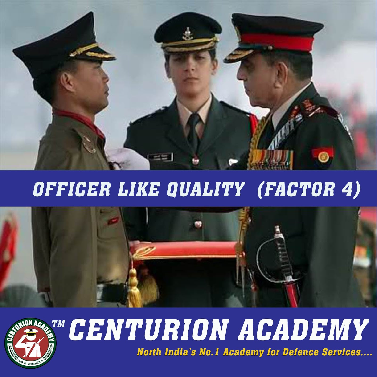 Officer Like qualities factor four