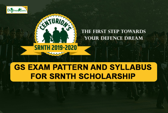 GS Exam pattern and Syllabus for SRNTH Scholarship