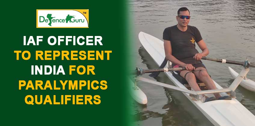 IAF Officer To Represent India For Paralympics Qualifiers