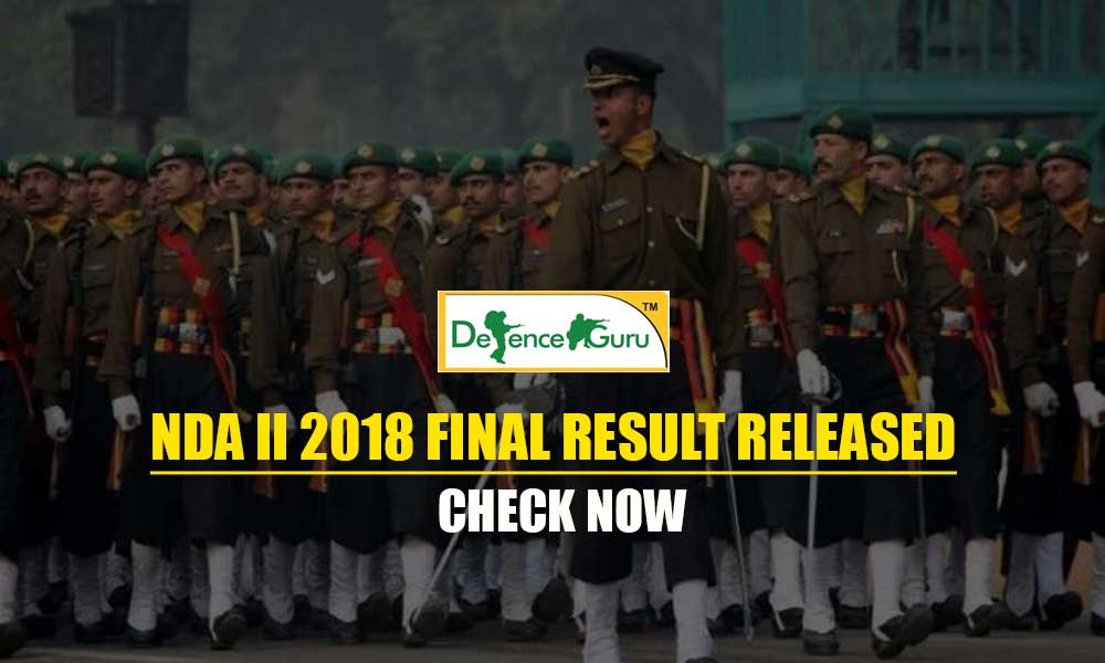 NDA II 2018 Final Result Released-Check Now