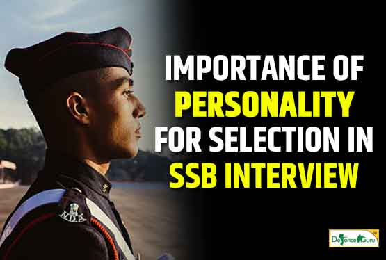 Importance of Personality for Selection in SSB Interview