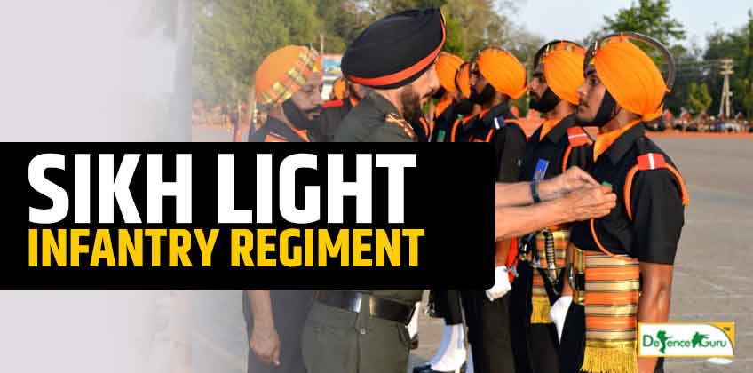 All about the Sikh Light Infantry Regiment