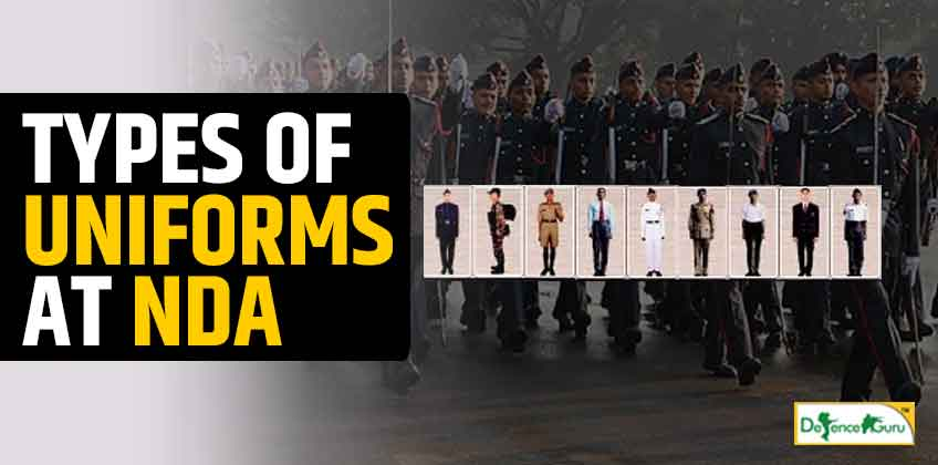 Types Of Uniforms at NDA (National Defence Academy)